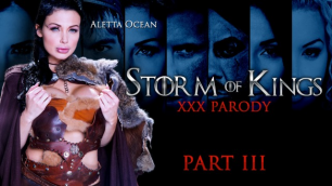 Busty Lady Aletta Ocean In Storm Of Kings XXX Parody: Part 3