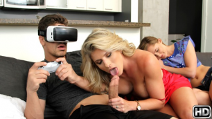Reality Kings - He Fucks Virtual Step Mother Cory Chase And Avalon Heart
