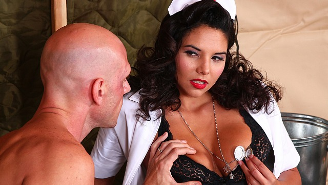 Brazzers - Missy Martinez's Job As A Wartime Nurse In The Line Of Boner