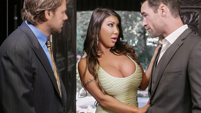 Brazzers - My Wife's Ex August Taylor Needs A Big Cock