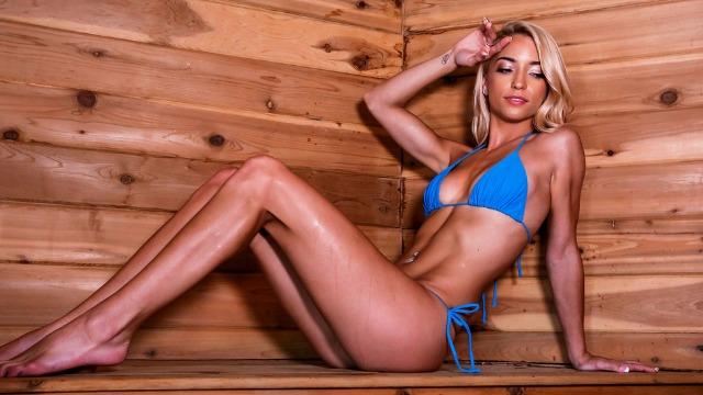 Brazzers - Blonde Cutie Paisley Rae In Sauna Seduction