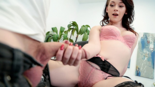 Mofos - Athena Rayne Handcuffed To A Filling Cabinet