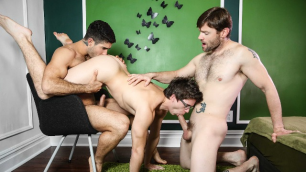 Men - The Book Part 2 Sucks You Off Dennis West , Diego Sans , Will Braun