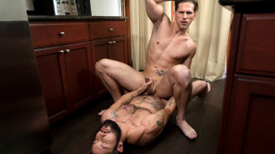 Jeff Powers Gets Right Down To Business Roman Todd In Raw Fugitive