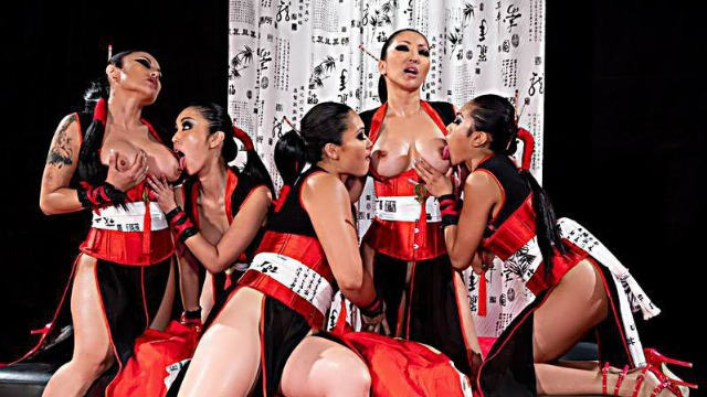 Wicked - Carnal, Scene 4 Overseas Girls Ember Snow, Kaylani Lei, Marica Hase