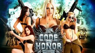 Jesse Jan, Kayden Kross And Other Pornstars In Code Of Honor