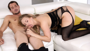 Wicked - He Loves Me In Stockings & Heels 2, Scene 3 AJ Applegate Have Cock In Mouth