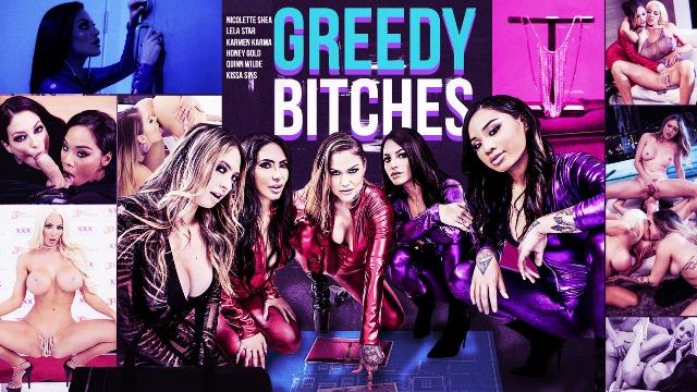 Digital Playground - Greedy Bitches Honey Gold, Karmen Karma And Other Pornstars
