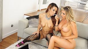 Wicked - Samantha Saint is Completely Wicked 2, Scene 4 Samantha Saint And Sophia Fiore Sex With Toys