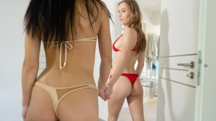 Lesbea - Sexy Girlfriends Kate Rich And Aislin Get Wet And Horny