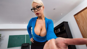 Brazzers - Bridgette's B Tits Are Distracting