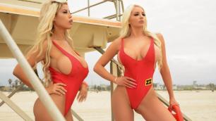 Brazzers -  Busty Blondes Bridgette B, Nicolette Shea BabeZZ Watch: A XXX Parody