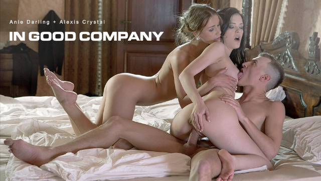 Babes - Hot Alexis Crystal And Cute Anie Darling In Great Good Company