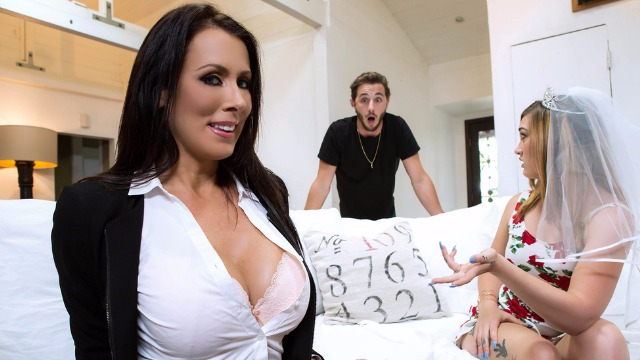 Brazzers - Wedding Planner Reagan Foxx Will Make Any Wish Of The Client