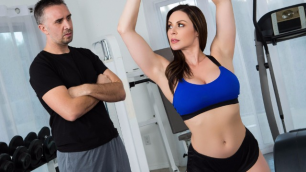 Busty Milf Kendra Lust Fucked With Personal Trainer