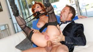 Evil Angel - Veronica Avluv Became Perfect Slave For His Master 4