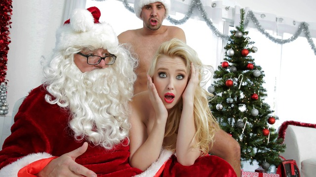 Brazzers - Samantha Rone Gets Gift From Dirty Santa