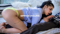 Babes - Gina Valentina Visits Her Favorite Professor In Office Hours