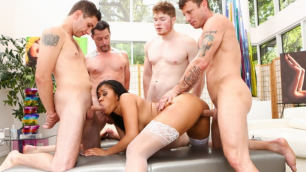 Devils Film - Latina Yasmine De Leon In White Out 2