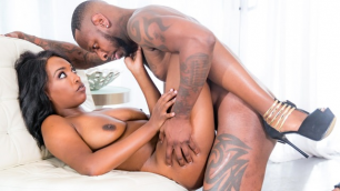 Devils Film - Dark Ebony Diva Daya Knight 2
