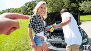 Reality Kings - MILF Sydney Hail Needed Some Serious Dick In Oil Change