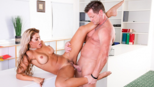 I Caught My Blonde Wife Mercedes Carrera Fucking The Help 2