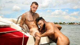 Men - Coast Guard Part 1 Sucking And Slobbering Brian Michaels And Steve Roman